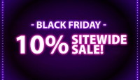 BLACK FRIDAY Extra 10% Sitewide Blowout