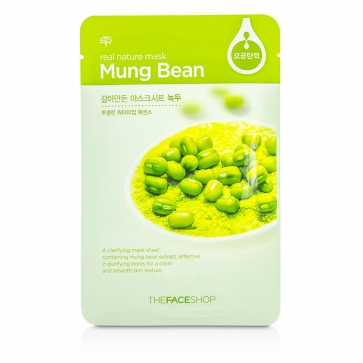 Real Nature Mask - Mung Bean (Clarifying)