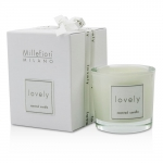Lovely Candle In Bicchiere - Bianco