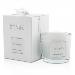 Lovely Candle In Bicchiere - Lilla
