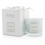Lovely Candle In Bicchiere - Azzurro