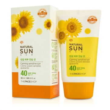 Natural Sun Eco Calming Sensitive Sun SPF 40