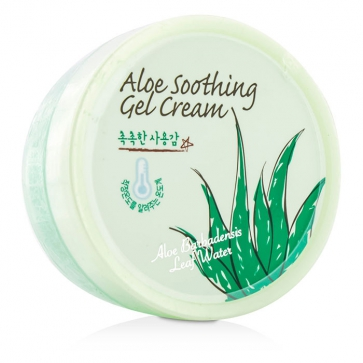 Aloe Soothing Gel Cream With Aloe Barbadensis Leaf Water