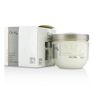 Natural White UV Natural Lightening Cream SPF 18
