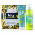 Bathing Brilliance Set: Lemon+Sage Soapy Suds 473.2ml/16oz + Body Butter 200ml/6.7oz