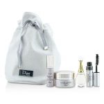 Travel Set: Capture Totale Cream 15ml + Dreamskin 7ml + JAdore EDP 5ml + Mascara 4ml + Bag