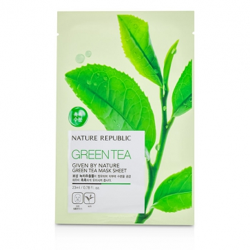 Given By Nature Mask Sheet - Green Tea