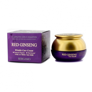 Wrinkle Care Cream - Red Ginseng (Natural Organic / Nutritional)