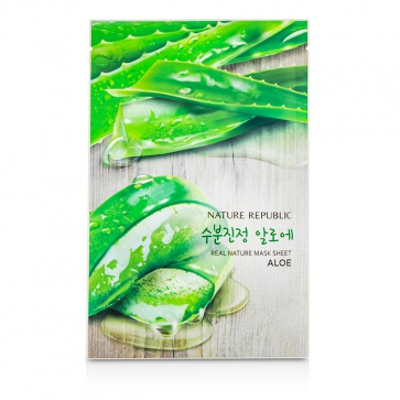 Real Nature Mask Sheet - Aloe