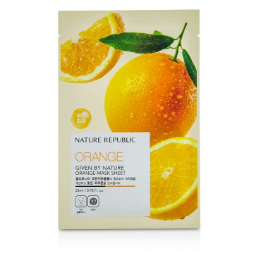 Given By Nature Mask Sheet - Orange