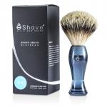 Finest Badger Long Shaving Brush - Blue