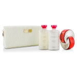 Omnia Coral Coffret: Eau De Toilette Spray 65ml/2.2oz + Body Lotion 75ml/2.5oz + Body Scrub 75ml/2.5oz + Pouch