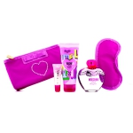 Pink Bouquet Coffret: Eau De Toilette Spray 100ml/3.4oz + Body Lotion 100ml/3.4oz + Lipgloss 10ml/0.3oz + Sleep Mask