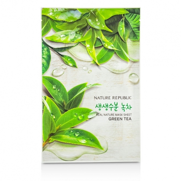 Real Nature Mask Sheet - Green Tea