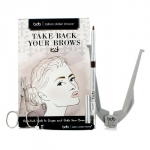 Take Back Your Brows Kit: 1x Brow Buddy, 1x Universal Brow Pencil, 1x Tweezers, 1x Scissors