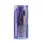 Professional Stainless Brow Shaping Scissors & Brush