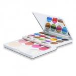 MakeUp Kit AZ 01205 (36 Colours of Eyeshadow, 4x Blush, 3x Brow Powder, 2x Powder)