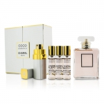 Coco Mademoiselle Coffret: Eau De Parfum Spray 50ml/1.7oz + Purse Spray with 3 Refills 4x7.5ml