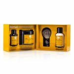 The 4 Elements Of The Perfect Shave - Lemon (Pre Shave Oil+ Shave Crm+ A/S Balm+ Brush)