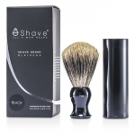 Travel Brush Fine With Canister - Black