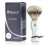Shave Brush Silvertip - White