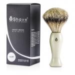Finest Badger Long Shaving Brush - White