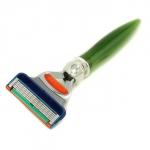5 Blade Razor - Green