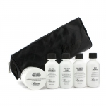 Travel Kit: Face Wash + Shave Formula + Moisturizer + Shave Balm + Shampoo + Bag