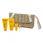 Source DEclat Set: Moisturiser + Peel-Off Mask + Night Balm + Aromessence Neroli + Bag