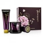Myeonghan Miindo Hwansaenggo Gold Eye Cream Set: Gold Eye Cream 25ml + Gold Cleansing Foam 40ml + Gold Cream 13ml