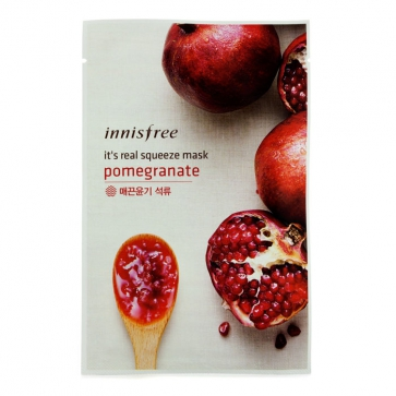 Its Real Squeeze Mask - Pomegrante