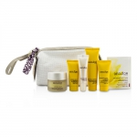 Gift Set: Night Balm 30ml + Rich Cream 15ml + Night Cream 15ml + Lip Balm 10ml + Massage Balm 25ml + Aromessenc Iris 1ml + Bag