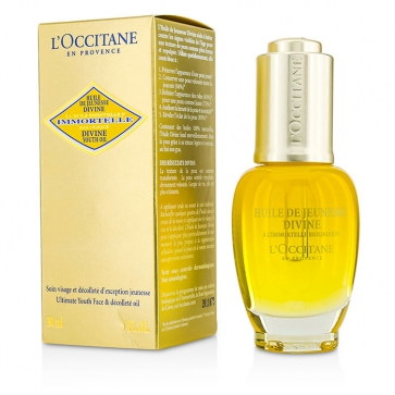 Immortelle Divine Youth Oil - Ultimate Youth Face & Decollete Oil