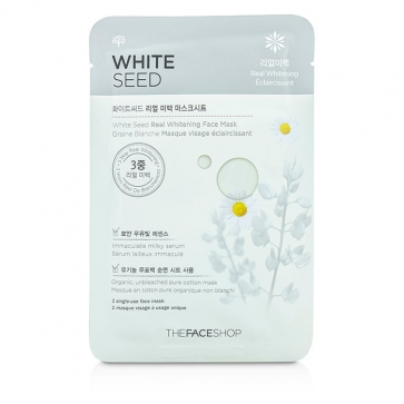 White Seed Real Whitening Face Mask