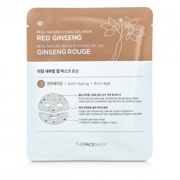 Real Nature Hydro Gel Mask - Red Ginseng (Anti-Aging)