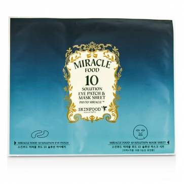 Miracle Food 10 Solution Eye Patch & Mask Sheet
