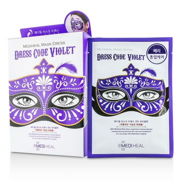 Dress Code Mask - Violet (Berry - Tone Up Care)