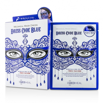 Dress Code Mask - Blue (Herb - Aqua Care)