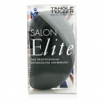 Salon Elite Professional Detangling Hair Brush - Midnight Black (For Wet & Dry Hair)