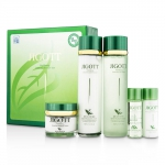 Well-Being Greentea Skin Care Set: Skin Toner 150ml + Skin Emulsion 150ml + Moisture Cream 50g......