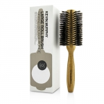 Large Roll.Brush - Round 70mm (Boar & Ionic Bristles, Sustainable Bamboo Handle)