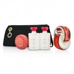 Omnia Coral Coffret: Eau De Toilette Spray 65ml/2.2oz + Body Lotion 40ml/1.3oz + Shower gel 40ml/1.3oz+Soap 50g/1.7oz + Pouch