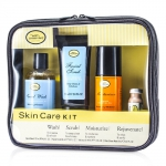 Skincare Kit (For Sensitive Skin): Facial Wash + Facial Scrub + Moisturizer + After Shave Mask