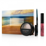 Get Your Glow On (A Full Bronzed Beauty Kit): 1x Blush n Glow, 1x I Care Waterproof Eyeliner, 1x Color Drenched Lip Gloss