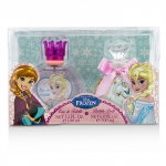 Disney Frozen Coffret: Eau De Toilette Spray 100ml/3.4oz + Bubble Bath 200ml/6.8oz
