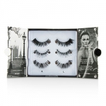 The London Edit False Lashes Multipack - # 121, # 117, # 154 (Adhesive Included)