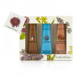 Ultra-Moisturising Hand Therapy Set: Gardeners 50g + La Source 50g + Pomegranate, Argan & Grapeseed 50g