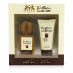 English Leather Coffret: Cologne Splash 100ml/3.4oz + After Shave Balm 74ml/2.5oz