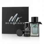 Mr. Burberry Coffret: Eau De Toilette Spray 100ml/3.3oz + Deodorant Stick 75g/2.5oz