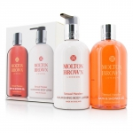 Sensual Hanaleni Bath & Body Set: Bath & Shower Gel 300ml/10oz + Nourishing Body Lotion 300ml/10oz